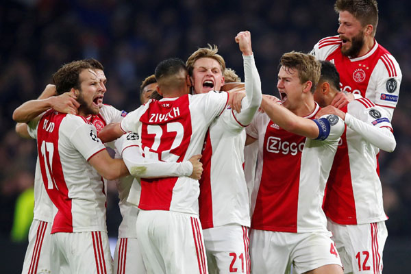 Prediksi Bola Ajax Amsterdam vs Excelsior 13 April 2019