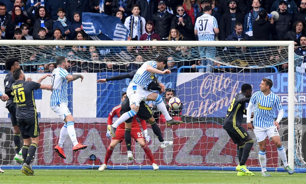 Chievo vs Spal 4 Mei 2019