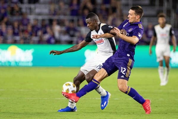 Orlando City vs Columbus Crew 14 Juli 2019