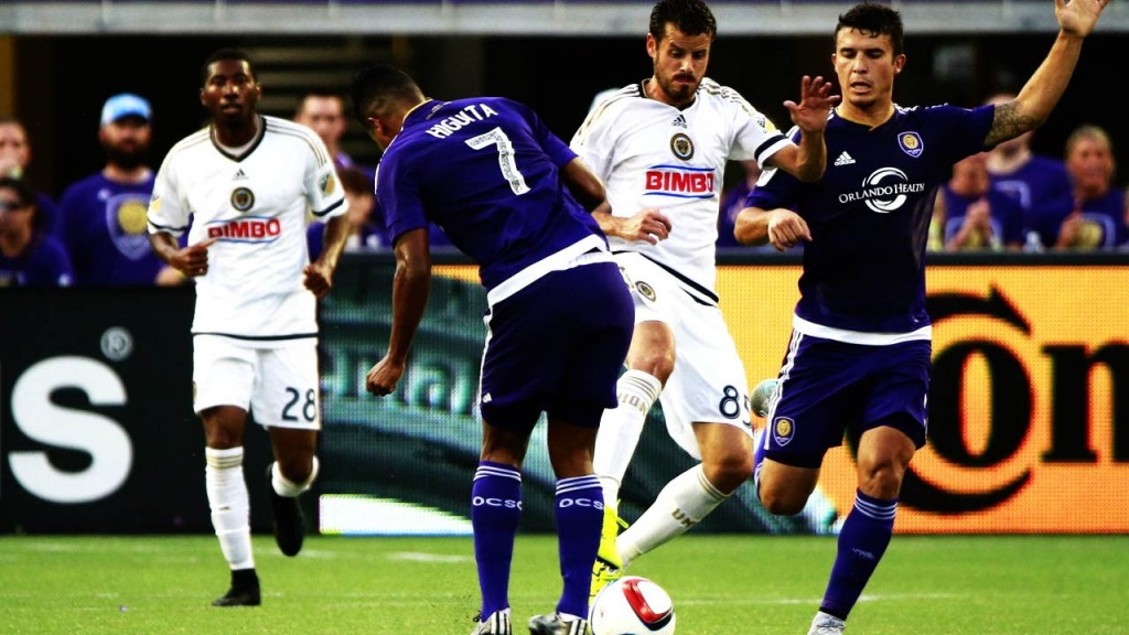 Orlando City vs Philadelphia Union 4 Juli 2019